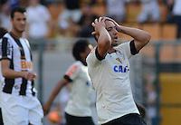 SAO PAULO SP, 14 Julho 2013 - Corinthians x Atletico MG.   Lance com Guilherme  durante partida valida pela setima rodada do campeonato brasileiro de 2013  no Estadio do Pacaembu em  Sao Paulo, neste domingo , 14. (FOTO: ALAN MORICI / BRAZIL PHOTO PRESS).