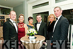 Aras Mhuire Black  Tie Ball: Pictured at the Black Tie Ball in aid of Aras Mhuire Nursing home. Listowel held in The Listowel Arms Hotel on Saturday night last were Albert & Siobhan Barrett, Kay & Pat Murphy & Sarah & Conor Moriarity all from Listowel.