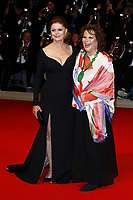 VENICE, ITALY - SEPTEMBER 03: Susan Sarandon and Claudia Cardinale attend 'Premio Kineo' Red Carpet during 74nd Venice Film Festival at Palazzo Del Cinema on September 3, 2017 in Venice, Italy. (Mark Cape/insidefoto)