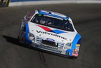 Oct. 10, 2009; Fontana, CA, USA; NASCAR Nationwide Series driver Carl Edwards during the Copart 300 at Auto Club Speedway. Mandatory Credit: Mark J. Rebilas-