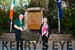 Unveiling the plaque to The Fenian John Golden at Kells on Saturday were Pat Golden & Molly Robinson.