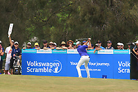 Anthony Quayle (AUS) on the 3rd tee during Round 4 of the Australian PGA Championship at  RACV Royal Pines Resort, Gold Coast, Queensland, Australia. 22/12/2019.<br /> Picture Thos Caffrey / Golffile.ie<br /> <br /> All photo usage must carry mandatory copyright credit (© Golffile   Thos Caffrey)