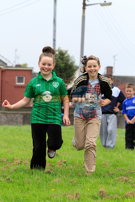 Keenly Murphy Megan Campbell.at the yellow batter sports day..Picture: Fran Caffrey / www.newsfile.ie