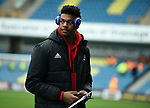 Sheffield United goalkeeper Jamal Blackman before the start of the championship match at The Den Stadium, Millwall. Picture date 2nd December 2017. Picture credit should read: Robin Parker/Sportimage
