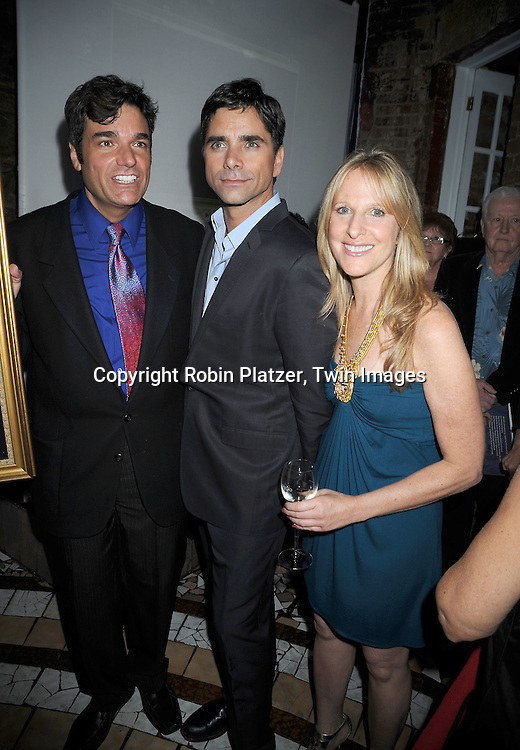 Dale Badway, John Stamos and Marcia Tovsky