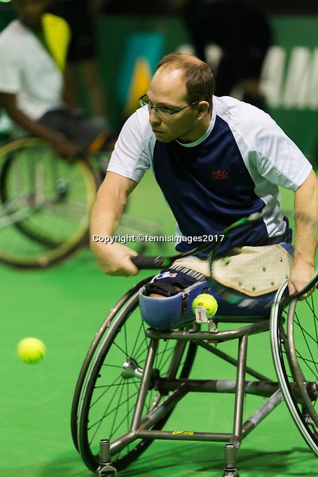 ABN AMRO World Tennis Tournament, Rotterdam, The Netherlands, 14 februari, 2017, <br /> Photo: Henk Koster