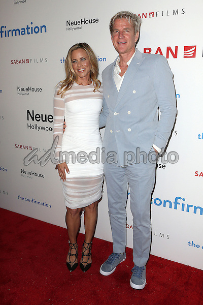 "15 March 2016 - Hollywood, California - Maria Bello, Matthew Modine. ""The Confirmation"" Los Angeles Premiere held at NeueHouse Hollywood. Photo Credit: Sammi/AdMedia"