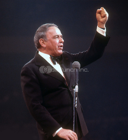 Frank Sinatra 1974<br /> Photo By John Barrett/PHOTOlink.net /MediaPunch
