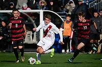 Chester, PA - Sunday December 10, 2017: Justin Rennicks. Stanford University defeated Indiana University 1-0 in double overtime during the NCAA 2017 Men's College Cup championship match at Talen Energy Stadium.