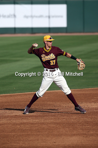 Colby Woodmansee - 2016 Arizona State Sun Devils (Bill Mitchell)