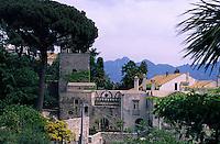 Europe/Italie/Côte Amalfitaine/Campagnie/Ravello : Villa Rufolo - Le palais