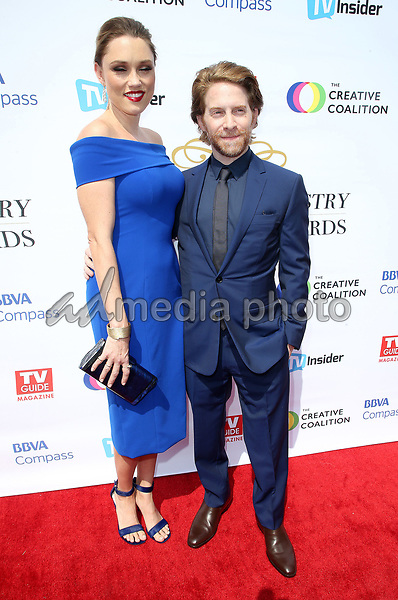16 September 2017 - Hollywood, California - Clare Grant, Seth Green. Television Industry Advocacy Awards held at TAO Hollywood. Photo Credit: F. Sadou/AdMedia