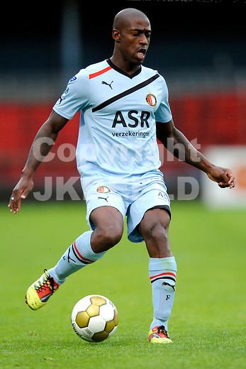 VEENDAM - SC Veendam - Feyenoord , voorbereiding seizoen 2011-2012, 22-07-2011 Feyenoord speler Ruben Schaken.