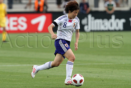 18.05.2011 Aya Miyama (JPN). The United States Women's National Team defeated the Japan Women's National Team 2-0 at WakeMed Stadium in Cary, North Carolina as part of preparations for the 2011 Women's World Cup.