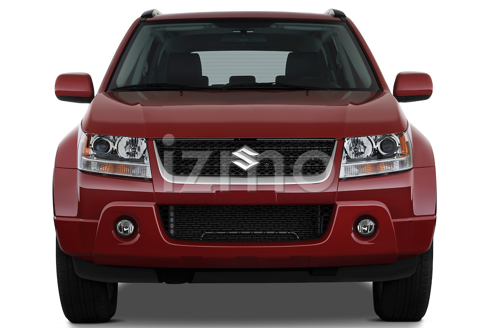 Straight front view of a 2009 Suzuki Grand Vitara