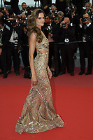 CANNES, FRANCE - MAY 16: Izabel Goulart attends the screening of 'Burning' during the 71st annual Cannes Film Festival at Palais des Festivals on May 16, 2018 in Cannes, France. <br /> <br /> Picture: Kristina Afanasyeva/Featureflash/SilverHub 0208 004 5359 sales@silverhubmedia.com