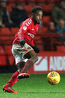 Tariqe Fosu of Charlton Athletic in action during Charlton Athletic vs Bradford City, Sky Bet EFL League 1 Football at The Valley on 13th February 2018
