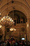 Israel, Jerusalem Old City, Easter, Syrian Orthodox Maundy Thursday at St. Mark's Church