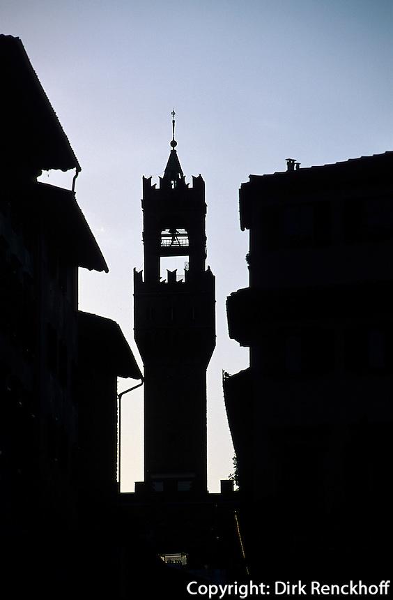 Palazzo Vecchio, Florenz, Toskana, Italien, Unesco-Weltkulturerbe
