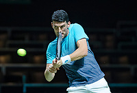 Rotterdam, The Netherlands, 12 Februari 2019, ABNAMRO World Tennis Tournament, Ahoy, first round singles: Franko Skugor (CRO),<br />