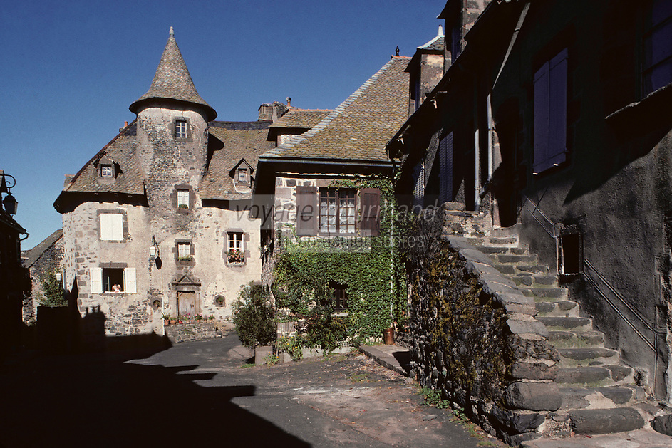 Europe/France/Auvergne/15/Cantal/Salers : Maison Bertranoy