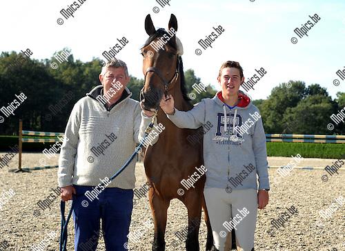 2013-10-01 / Paardensport / seizoen 2013-2014 / Jos Verlooy met zijn vader<br /><br />Foto: Mpics.be