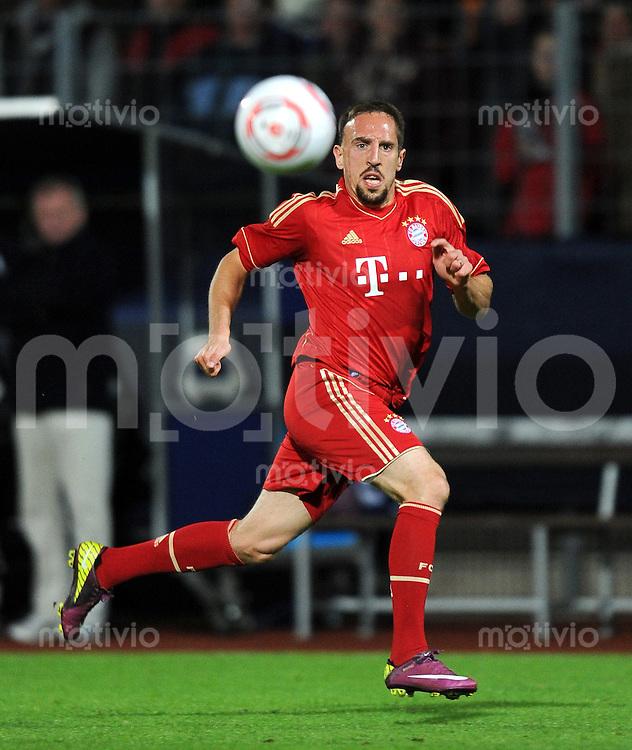 Fussball 1. Bundesliga :  Saison   2011/2012   Freundschaftsspiel  16.05.2011 FC Bayern Muenchen - Paulaner Auswahlteam Franck Ribery (FC Bayern Muenchen)