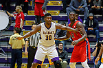 Stony Brook defeats UAlbany  69-60 in the America East Conference tournament quaterfinals at the  SEFCU Arena, Mar. 3, 2018.  Travis Charles (#30).