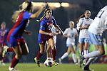 18 November 2016: Kansas's Tayler Estrada. The University of North Carolina Tar Heels played the University of Kansas Jayhawks at Fetzer Field in Chapel Hill, North Carolina in a 2016 NCAA Division I Women's Soccer Tournament Second Round match. UNC won the game 2-0.