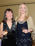 Anne and Aileen Whitmarsh pictured at the 65 Roses ball in the Grove hotel. Photo:Colin Bell/pressphotos.ie