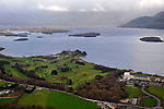 An aerial view of Killarney Golf Club and The Europe Hotel & Resort and Killarney Golf Club..Picture by Don MacMonagle