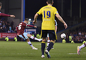 19/04/2016 Sky Bet League Championship  Burnley v Middlesbrough<br /> Matt Taylor free kick