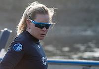 Putney, London,  Tideway Week, OUWBC. Oxford, Stroke: Jenna Hebert, Championship Course. River Thames, <br /> <br /> Tuesday  28/03/2017<br /> [Mandatory Credit; Credit: Peter Spurrier/Intersport Images.com ]