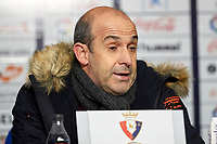 during the Spanish football of La Liga 123, match between CA Osasuna and CD Lugo at the Sadar stadium, in Pamplona (Navarra), Spain, on Sanday, December 2, 2018.