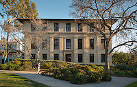 Johnson Hall, Occidental College campus, Los Angeles, Calif. on Feb. 20, 2013. (Photo by Marc Campos, Occidental College Photographer)