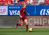 FRISCO, TX - MARCH 11: Toni Duggan #11 of England dribbles during a game between England and Spain at Toyota Stadium on March 11, 2020 in Frisco, Texas.