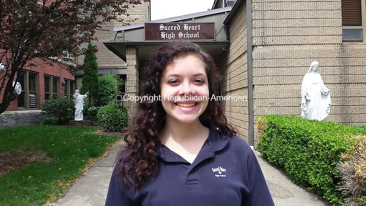 Katherine Gomes, 17, of Waterbury
