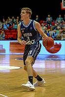 GRONINGEN - Basketbal, Donar - Weert, Dutch Baketball League, seizoen 2018-2019, 07-10-2018, Donar speler Tim Hoeve
