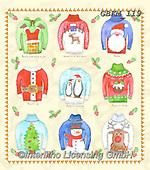Kate, CHRISTMAS SANTA, SNOWMAN, WEIHNACHTSMÄNNER, SCHNEEMÄNNER, PAPÁ NOEL, MUÑECOS DE NIEVE, paintings+++++Christmas jumpers,GBKM119,#x#