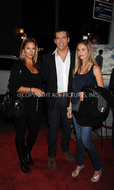 WWW.ACEPIXS.COM . . . . .  ....October 20 2009, New York City....Jill Goodacre (L) and Harry Connick Jr. (C)  arriving at the premiere of 'Amelia' at The Paris Theatre on October 20, 2009 in New York City. ....Please byline: AJ Sokalner - ACEPIXS.COM..... *** ***..Ace Pictures, Inc:  ..tel: (212) 243 8787..e-mail: info@acepixs.com..web: http://www.acepixs.com