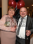 Richie and Bernie Cahill at the Odie Wants to Walk Valentine Ball in the Glenside hotel. Photo:Colin Bell/pressphotos.ie