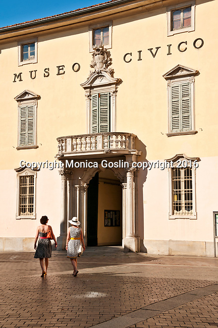 Museo Archeologico Civico in downtown Como, Italy