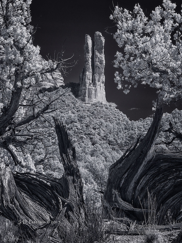 The Rabbit Ears with Junipers (Infrared)