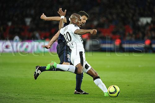 29.04.2016. Paris, France. French league 1 football. Paris St German versus Rennes.  Yacouba SYLLA (ren) clears upfield