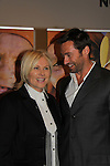 Hosts Hugh Jackman and his wife Deborra Lee Furness in support of the launch of the Global Poverty Project's 1.4 Billion Reasons DVD on October 20. 2010 at New York City's Museum of Modern Art, NYC, NY. (Photo by Sue Coflin/Max Photos)
