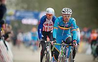 Sven Nys (BEL) warming up <br /> <br /> 2014 UCI cyclo-cross World Championships, EliteMen