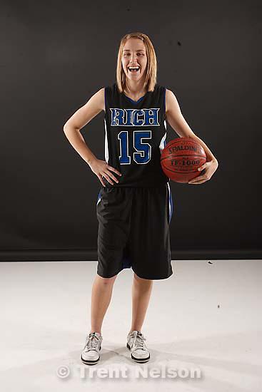 Salt Lake City - High School girls basketball MVP's are Rich's Allie Eastman (1A)