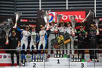 #78 BARWELL MOTORSPORT (GBR) LAMBORGHINI HURACAN GT3 2019 SILVER CUP JAMES PULL (GBR) JORDAN WITT (GBR) SANDY MITCHELL (GBR) SILVER WINNER TOTAL 24H OF SPA<br /> #90 AKKA ASP TEAM (FRA) MERCEDES AMG GT3 SILVER CUP NICO BASTIAN (DEU) TIMUR BOGUSLAVSKIY (RUS) FELIPE FRAGA (BRA) SILVER SECOND <br /> #06 BLACK FALCON (DEU) MERCEDES-AMG GT3  SILVER CUP ABDULAZIZ AL FAISAL (UAE) HUBERT HAUPT (DEU) PATRICK ASSENHEIMER (DEU) GABRIELE PIANA (ITA) SILVER THIRD