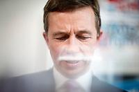 Bernd Lucke, Parteivorsitzender der AfD (Alternative f&uuml;r Deutschland) nimmt am Montag (15.09.14) in Berlin an einer Pressekonferenz zu den Landtagswahlen in Th&uuml;ringen und Brandenburg teil.<br /> Foto: Axel Schmidt/CommonLens