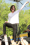Zachary Porter of the pop band Allstar Weekend performs at Rockford Park in Wilmington, Delaware May 7, 2011. .Copyright EML/Rockinexposures.com.